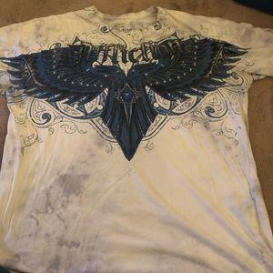Affliction Georges RUSH St-Pierre shirt 2xl